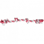 DT COTTON JIM PLAYING ROPE 4 KNOTS MULTI 60CM