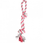 DT COTTON JIM PULL ROPE 2 KNOTS MULTICOLOUR 50CM