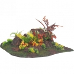 Akvaariumi dekoratsioon RADHA ROCK + PLANT ANGLE 27,5x27,5x10CM
