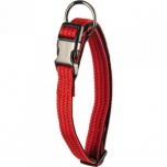 COLLAR JANNU RED 55/75CM 38MM