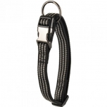 COLLAR JANNU BLACK 20/35CM 10MM