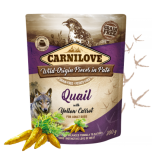 Carnilove Pate Quail with Yellow Carrot 300g