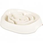 Toidukauss EXQI Slow feeder valge 950ML