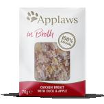 Applaws kassi einekotike Kana/part/õun 70g