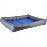 Koerte jahutav pesa FRESK ristkülik sinine/hall L 70x50x8,5cm
