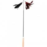 CT CAT DANGLER YULA BLACK-RED 57CM EXTENDABLE-90CM DISP.
