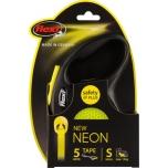 Flexi jalutusrihm Classic Neon lint S 5m