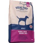 """Healthy Paws """"Pardi ja jäneselihaga ja pruuni riisiga"""" 12kg"""