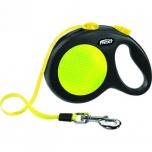 Flexi jalutusrihm neon lint L 5M max 50kg