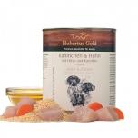 Hubertus Gold® Küüliku- ja linnuliha hirsi ning porgandiga + linaseemneõli 800g
