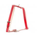 Collar koera traksid Brilliance väik.tõud punane 40cm/45-54c