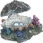 Akvaariumi dekoratsioon liikuv rannakarp- õhupumba otsaga